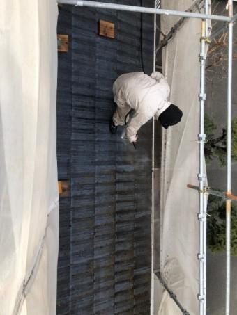 モニエル瓦 屋根塗装