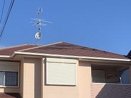 大和高田市にて屋根補修の相談による調査に伺いました