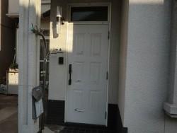 既存の玄関扉