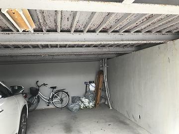 車庫の様子