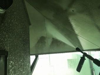 軒天井 洗浄