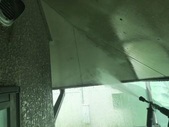 洗浄後 軒天井