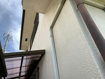 色褪せた外壁