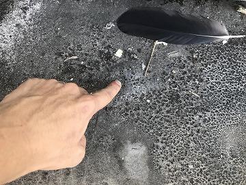 塗膜の膨れ