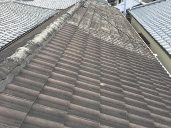 屋根の差し替え部分