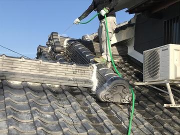 屋根の清掃