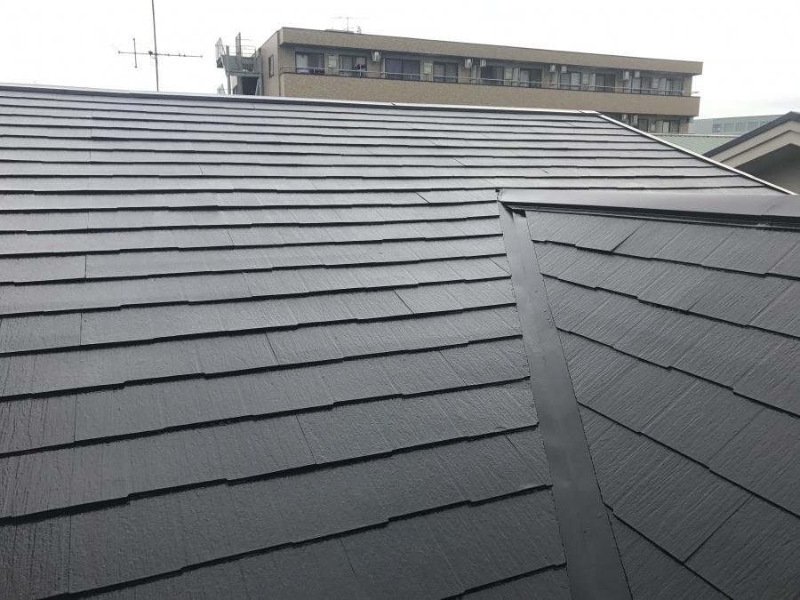 完工後の屋根