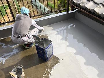 防水層構築