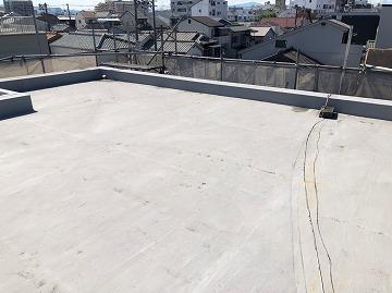 屋上 施工前