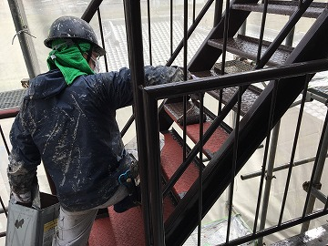 階段仕上げ