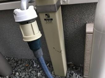 水道塗料汚れ