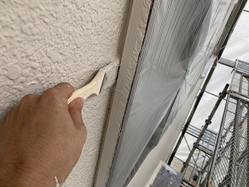 窓際 塗装