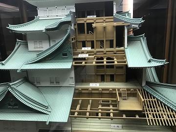 名古屋城の模型