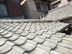 既存の下屋根