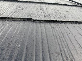 縁切りされていない屋根