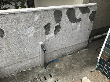 塀の全体写真