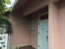 外壁玄関面