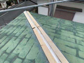大屋根 抜き板新設