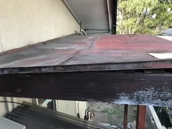 玄関庇屋根