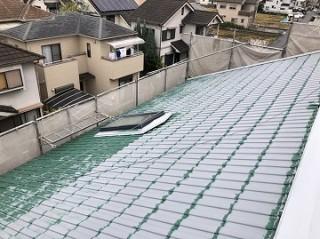 流された屋根