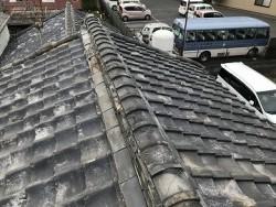 施工前 瓦屋根