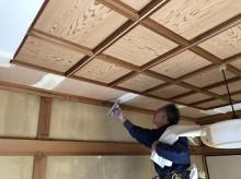 天井板張り替え