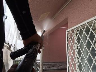 外壁の洗浄
