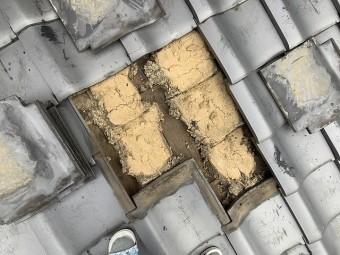 屋根下地の状態
