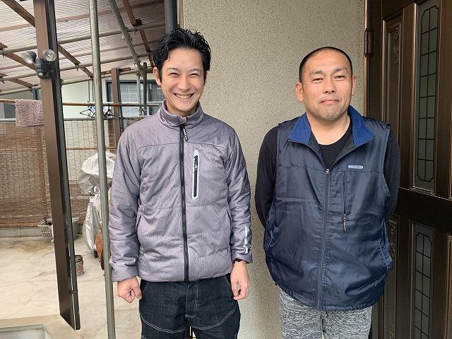 大和高田市M様邸で下屋の葺き替え工事を行いました