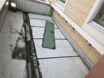 飛んだ板金屋根