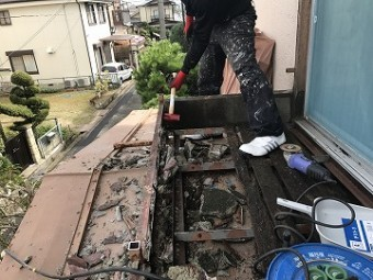 コンクリート砕き