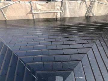 屋根塗装 完工写真