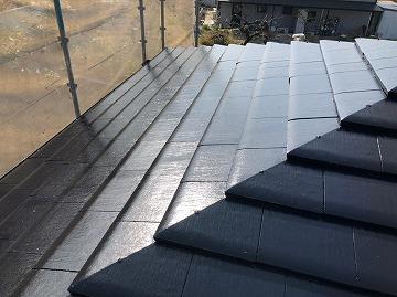 仕上がった屋根