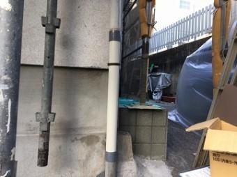 補修後の雨樋