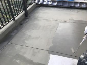 セメント塗布