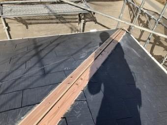 抜き板施工