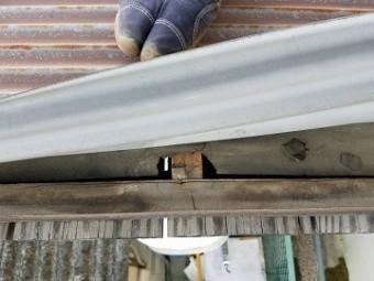 屋根の下地調査