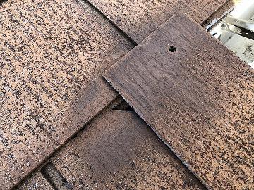 瓦の隙間と穴