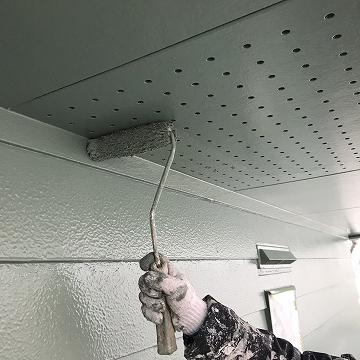 天井上塗り