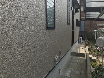 塗装した雨樋