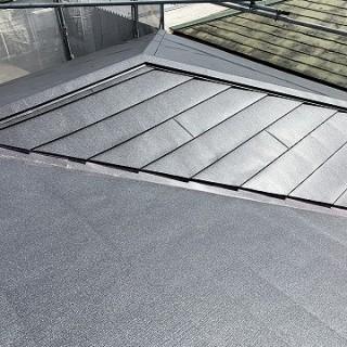 屋根カバー工事 施工後