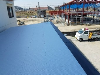 以前施工した屋根