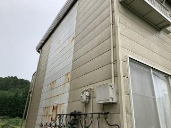 ハイツ外壁サイディング