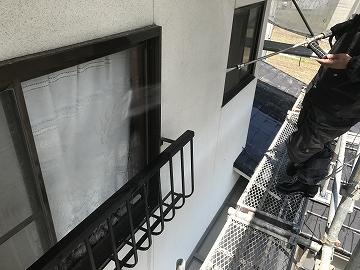 窓高圧洗浄