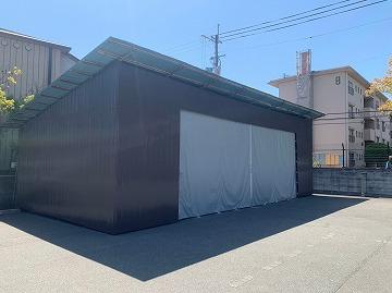 トタン倉庫