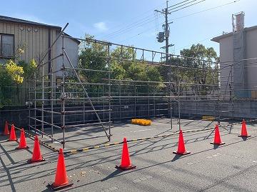 奈良市にて倉庫の新設工事をさせていただきました