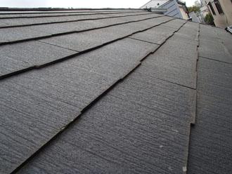 劣化が進む前のパミール屋根材